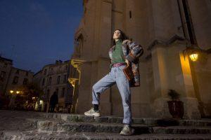 Portants #2 de vêtements d'occasion friperie Chic & Bohème à Montpellier