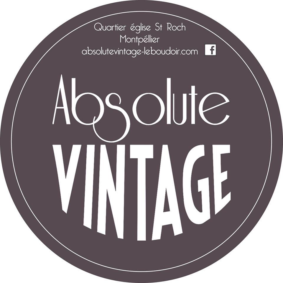 Logo Absolute Vintage friperie Montpellier