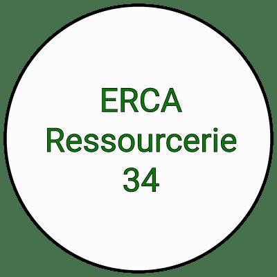 Logo erca ressourcerie Montpellier