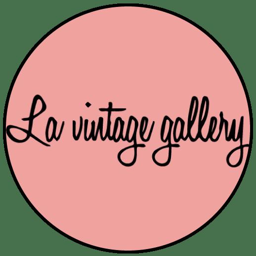 Logo la vintage gallery friperie Montpellier