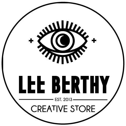 Logo Lee Berthy friperie Montpellier