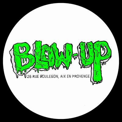 Logo Blow-Up Vintage friperie Aix-en-Provence