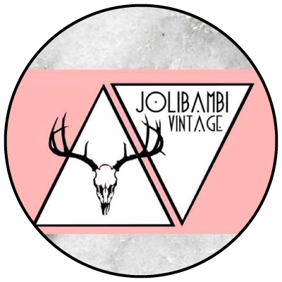 Logo Jolibambi vintage friperie Aix en provence