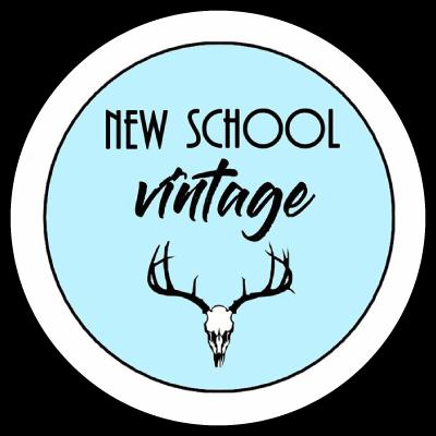Logo New School Vintage Friperie à Aix en Provence