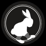 Logo le lapin aux guêtres dépôt vente à Saint-Etienne