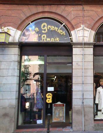 """Image boutique """"Le grenier d'Anaïs"""" friperie Toulouse"""