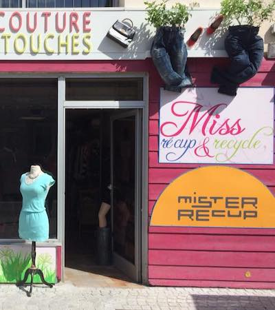"Image boutique ""Miss recup & recycle"" friperie à Nantes"