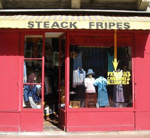 Image Steack fripes friperie Bordeaux