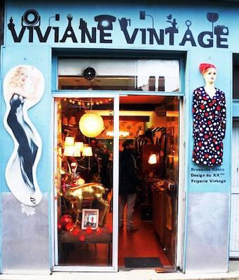 Image Viviane vintage friperie Nantes