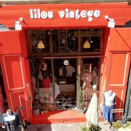Image boutique lilou vintage Marseille