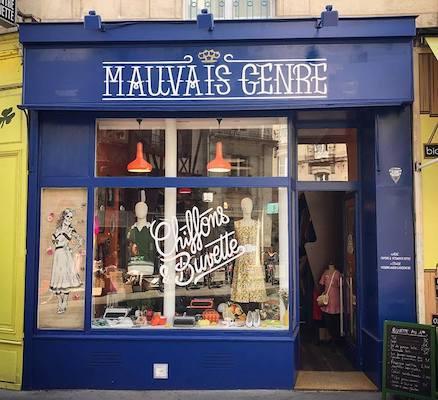 Image Mauvais genre friperie Nantes