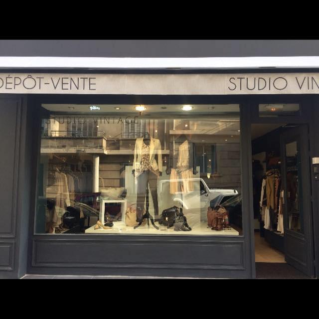 Image boutique Studio Vintage Marseille