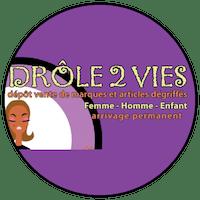 Logo Drôle 2 vies dépôt-vente Marseille
