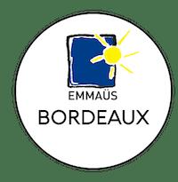 Logo Emmaüs ressourcerie Bordeaux