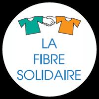 Logo la fibre solidaire - Mule noire friperie Aix-en-Provence