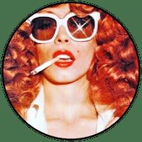 Logo Lilou vintage friperie Marseill