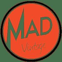 Logo Mad Vintage friperie Marseille