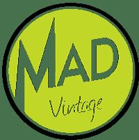 Logo Mad Vintage friperie Bordeaux