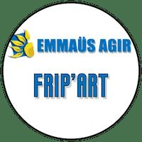 "Logo ""Frip'art"" friperie à Toulouse"