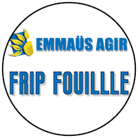 """Logo """"Frip Fouille"""" friperie à Toulouse"""