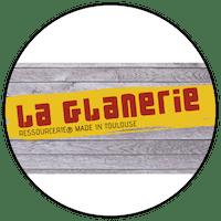 """Logo """"La Glanerie"""" friperie à Toulouse"""