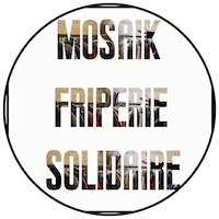 "Logo ""Mosaik"" friperie à Toulouse"