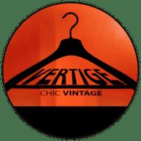 """Logo """"Vertige Vintage"""" friperie à Toulouse"""