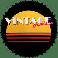 """Logo """"Vintage Paradise"""" friperie à Toulouse"""
