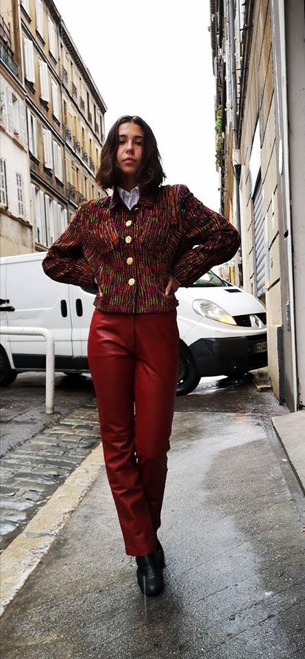 Tenue vestimentaire d'occasion #3 au pied de poule Marseille