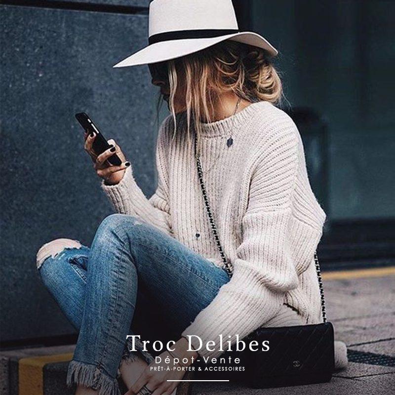 """Lookbook #3 """"Troc Delibes"""" dépôt-vente à Marseille"""