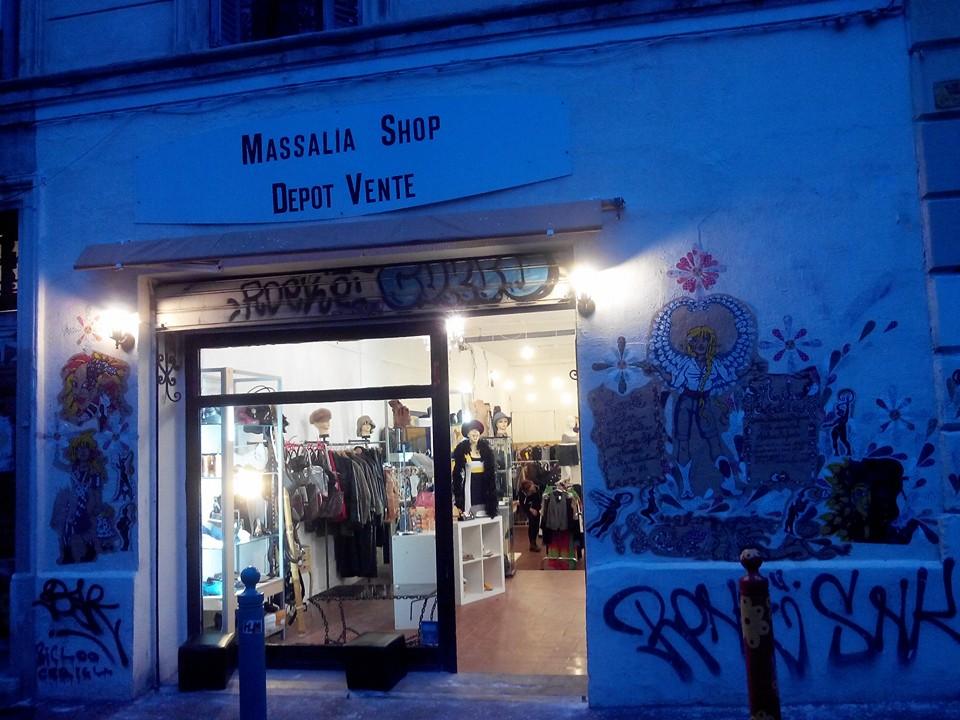 Image boutique Massalia Shop Marseille