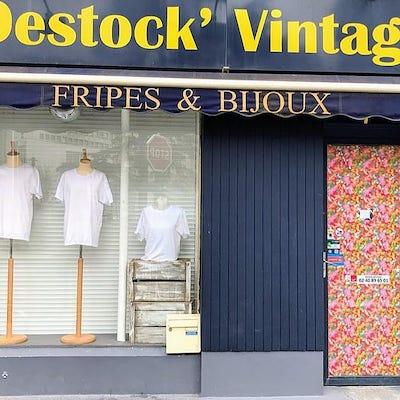 Image Destock' Vintage friperie Nantes