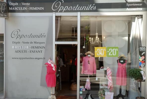 Image Opportunités dépôt-vente Angers