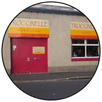 Logo Troccinelle ressourcerie Angers