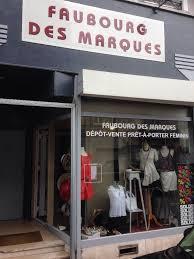 """Image boutique """"Faubourg des marques"""" dépôt-vente à Lille."""