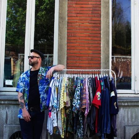 """Image boutique """"Be bop vintage"""" friperie à Lille."""