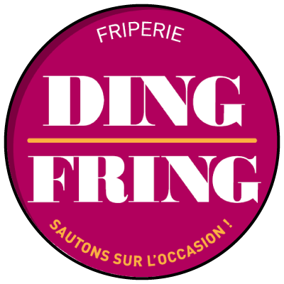 Logo Ding-fring friperie Lille