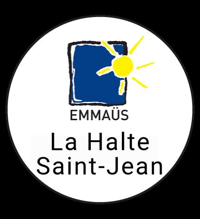"""Logo """"La halte saint-jean"""" ressourcerie à Lille"""