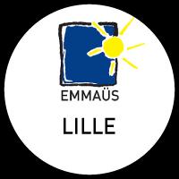 "Logo ""Emmaüs"" ressourcerie à Lille"