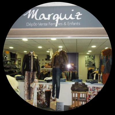 """Logo """"Marquiz"""" dépôt-vente à Lille"""