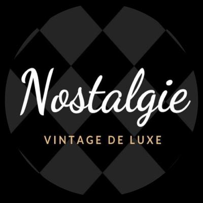 "Logo ""La nostalgie"" friperie à Lille"