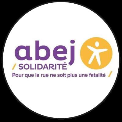 """Logo """"ABEJ solidarité"""" friperie à Lille"""