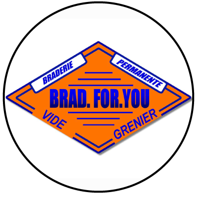 Logo Brad for you ressourcerie Lille