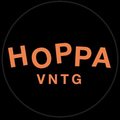 "Logo ""Hoppa vntg"" friperie à Lille"
