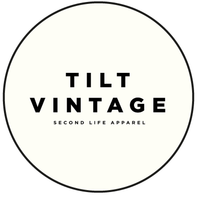 """Logo """"Tilt Vintage"""" friperie à Lille"""