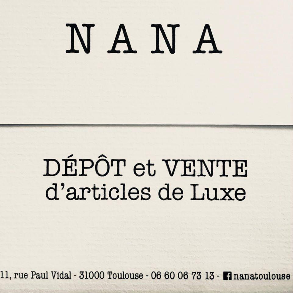 Logo Boutique NANA friperie Toulouse