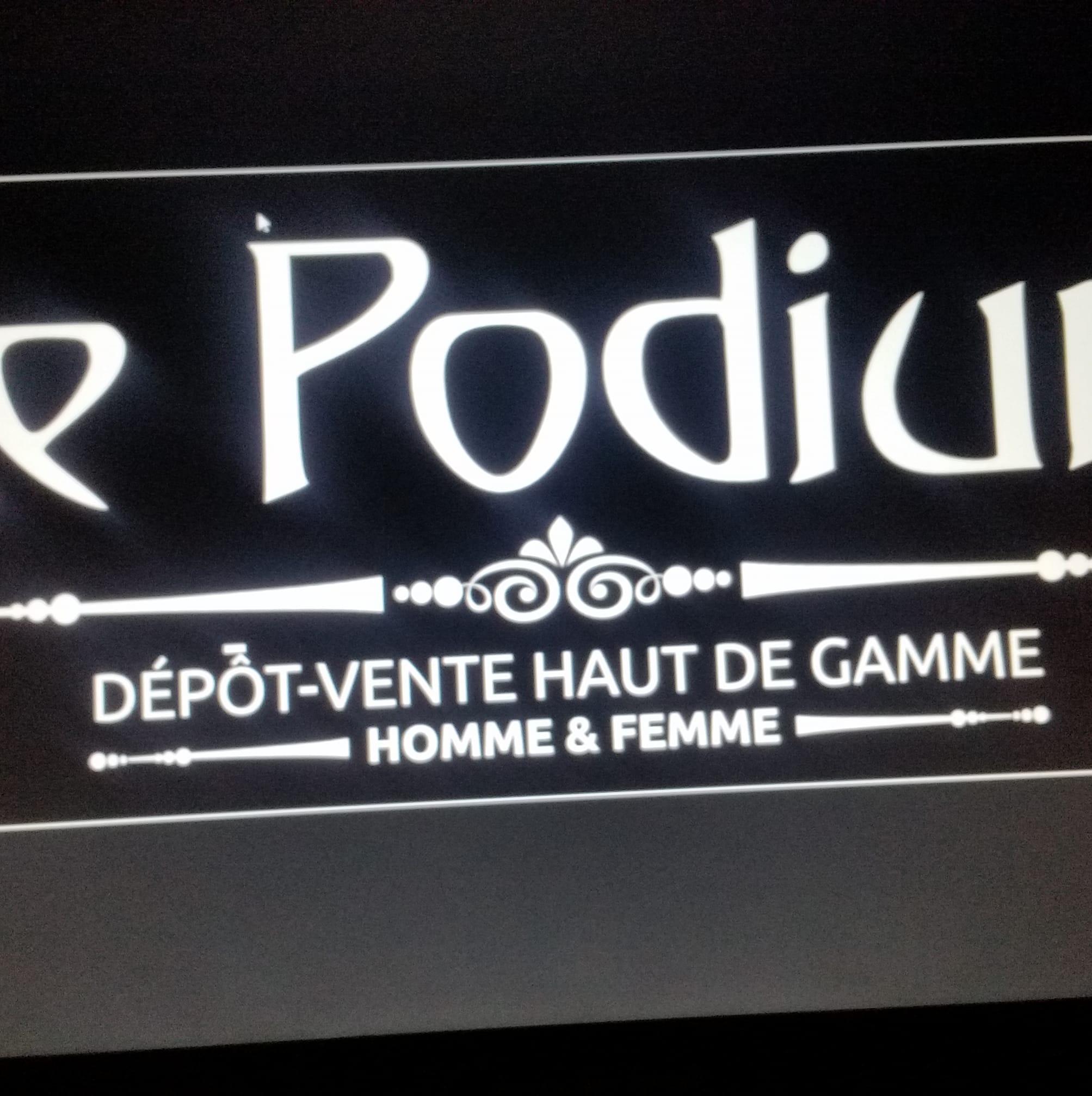 Logo Le Podium friperie Metz