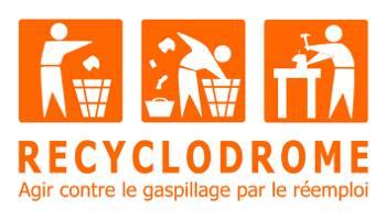 Logo Recyclodrome ressourcerie Marseille