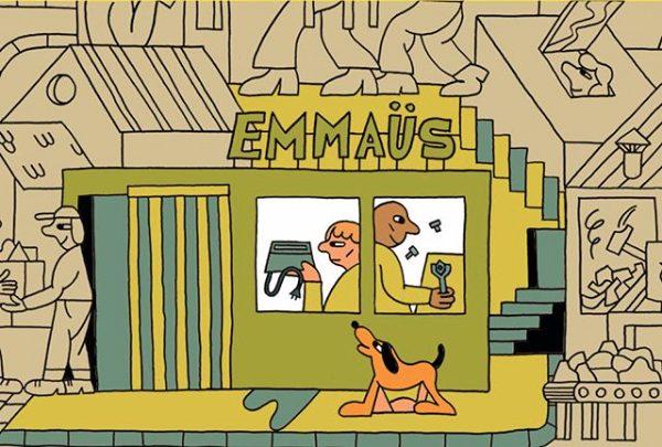 Image Emmaüs (Gratte ciel) dépôt-vente Lyon