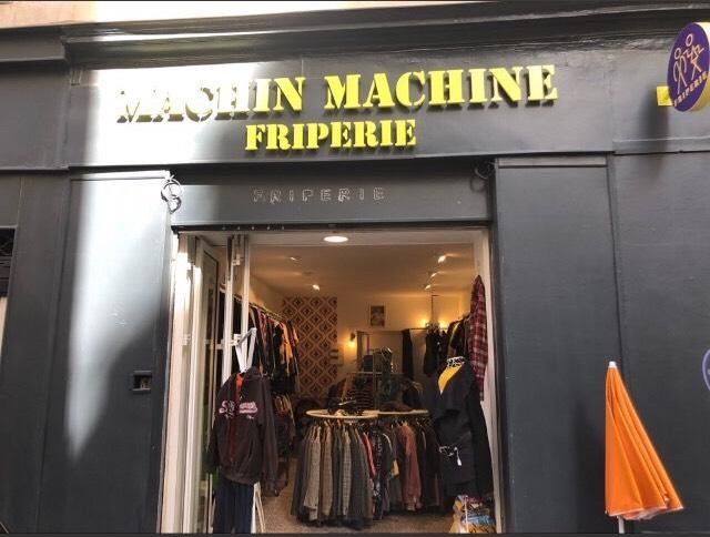 Image Machin Machine friperie Marseille